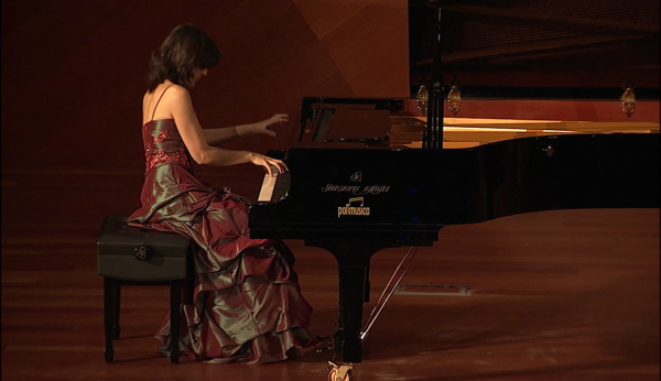 La pianista Isabel Dombriz Martialay