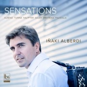 Sensations, un excelente disco de Iñaki Alberdi, acordeon, en el sello IBS Classical