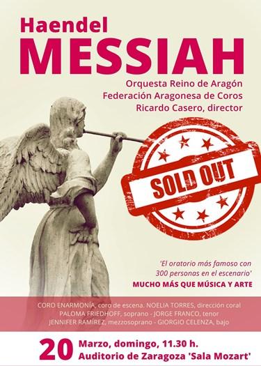 El Mesias de Haendel con la Orquesta Reino de Aragon