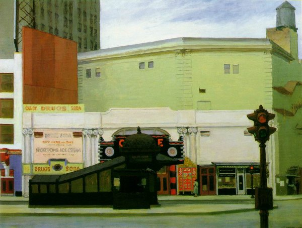 Edward Hopper, The Circle Theatre