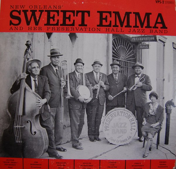 Sweet Emma Barret and her Preservation Hall Jazz Band